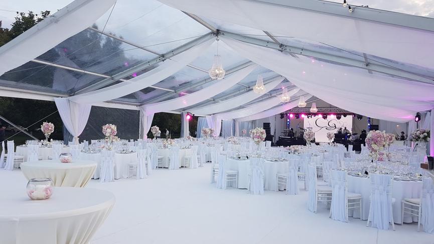 Inchiriere logistica si decor pentru nunti