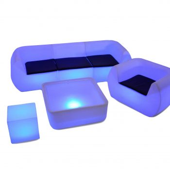 inchiriere mobilier lounge luminos (led)