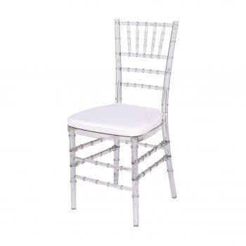 inchiriere scaun Chiavari Transparent