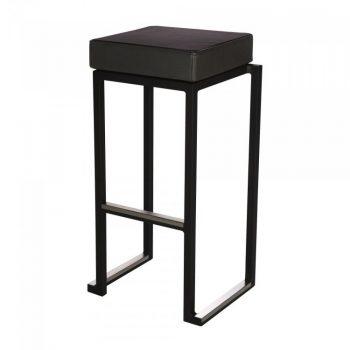 inchiriere scaun bar negru Kubio